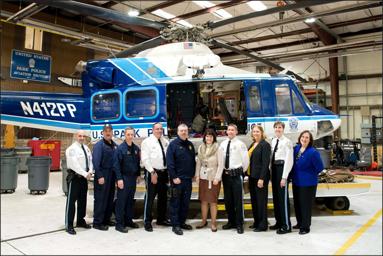 Rep. McCollum visits USPP Aviation